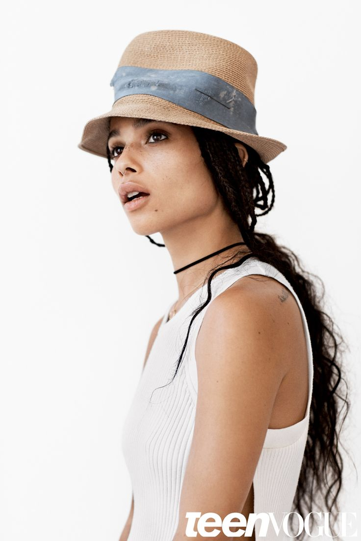 Zoe Kravitz. Definitely inherited her daddy's swag.
