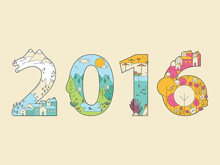Happy 2016 :-) by Patricia Mafra