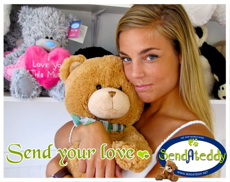 Send your love with http://www.sendateddy.net/ #sendateddy #teddybears