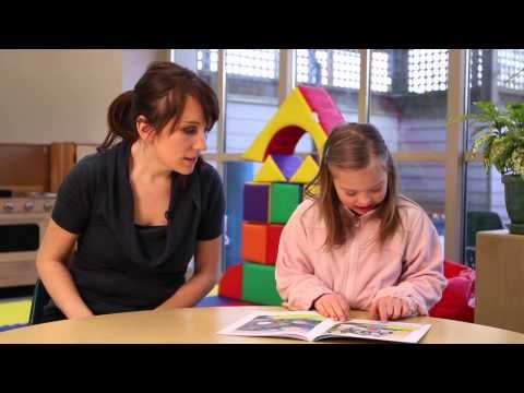 Successful Strategies for Beginning Readers with Down Syndrome - YouTube