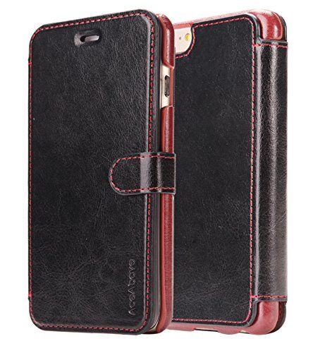 Best price on iPhone 6S Case, AceAbove iPhone 6S wallet case [Black] - Premium PU Leather Wallet Cover with [Card Slots] for Apple iPhone 6 (2014) / iPhone 6S (2015) See details here: http://bestmobilecomments.com/product/iphone-6s-case-aceabove-iphone-6s-wallet-case-black-premium-pu-leather-wallet-cover-with-card-slots-for-apple-iphone-6-2014-iphone-6s-2015/ Truly the best deal for the inexpensive iPhone 6S Case, AceAbove iPhone 6S wallet case [Black] - Premium PU Leather Wallet Cover with…