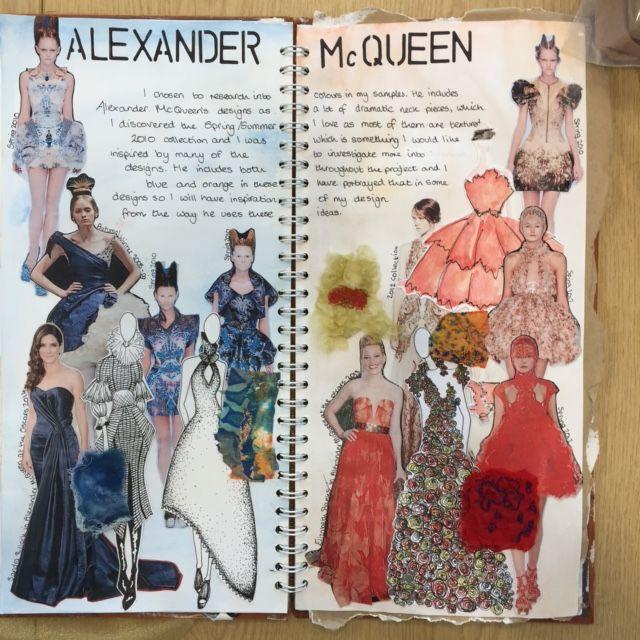 Fashion Designer research : Claire