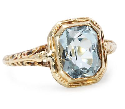 Best 25 Emerald cut aquamarine ring ideas on Pinterest