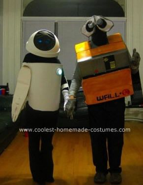 thinking of doing this for Halloween this year... Wall-E Costume