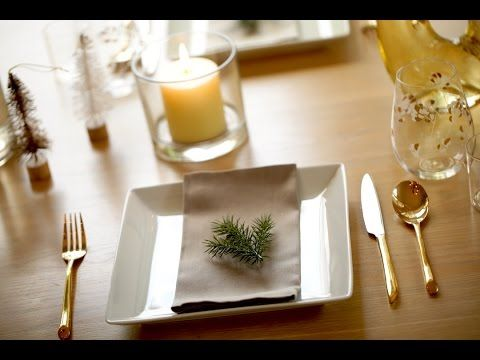 3 Holiday Table Settings (easy Christmas decorations) | ENTERTAINING WIT...