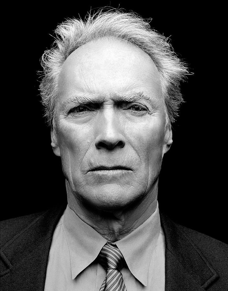 Clint Eastwood: Faces, Clinton Eastwood, Photography Portraits, Actor, Eastwood Jr, Director, Neil Wilderness, People, Clint Eastwood