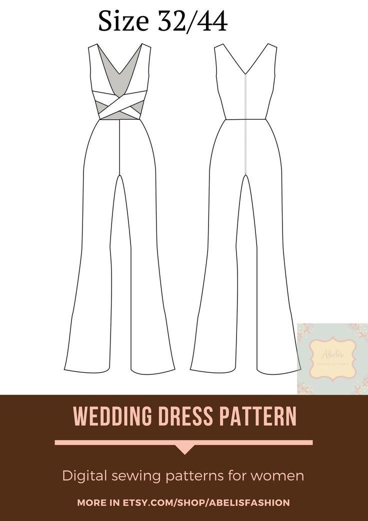Jumpsuit sleeveless, women jumpsuit pattern, cut-off jumpsuit 1