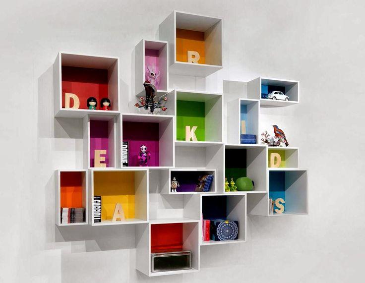 Desain Rak Buku Dinding / Gantung ~ Gambar Rumah Idaman