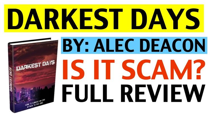 Darkest Days SCAM or NOT (Review)