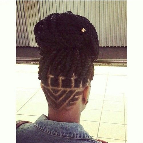 Don\u0027t Know What To Do With Your Hair Check Out This Trendy Ghana Braided  Hairstyle , Black Women\u0027s Natural Hair Styles , A.A.H.V
