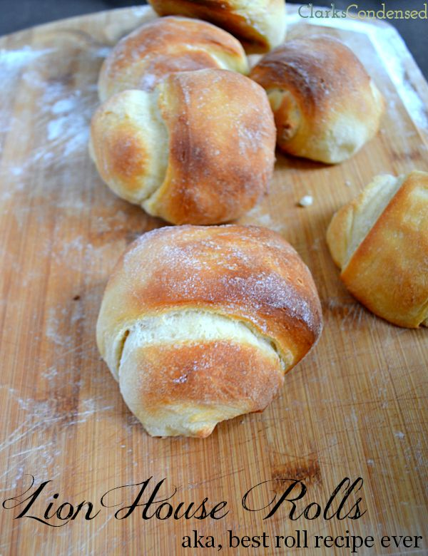 Legendary Lion House Rolls Recipe -- AKA the best rolls you will ever make (no kneading required!)