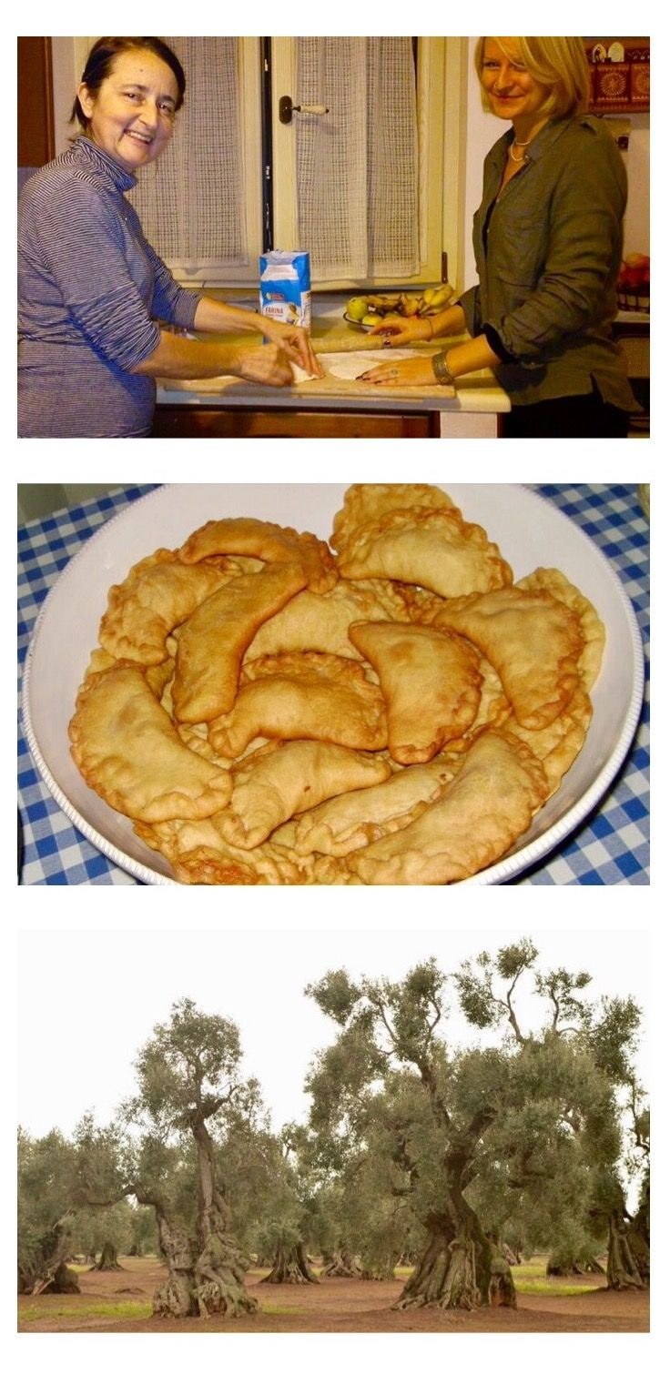 Recipe for traditional Pugliese Panzerotti, and the story of making them with my italian mother in law.