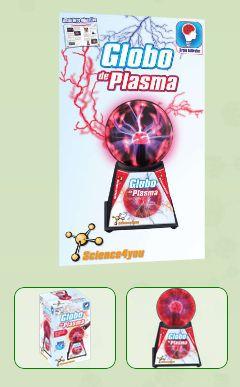 GLOBO DE PLASMA  Descobre: - O que é o plasma - Quais são os estados físicos da matéria - Como se formam os raios luminosos - Como funciona o globo de plasma com o toque ou com a tua voz