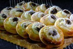 Tvarohové koláčiky so slivkovým lekvárom