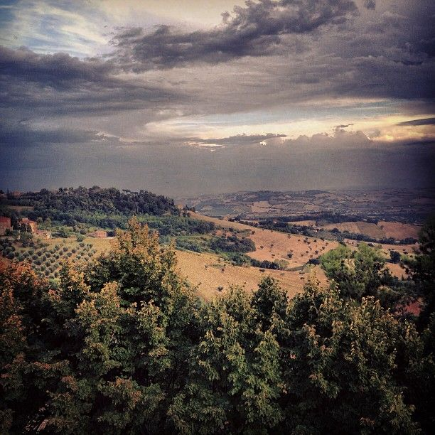 Amazing view from Recanati