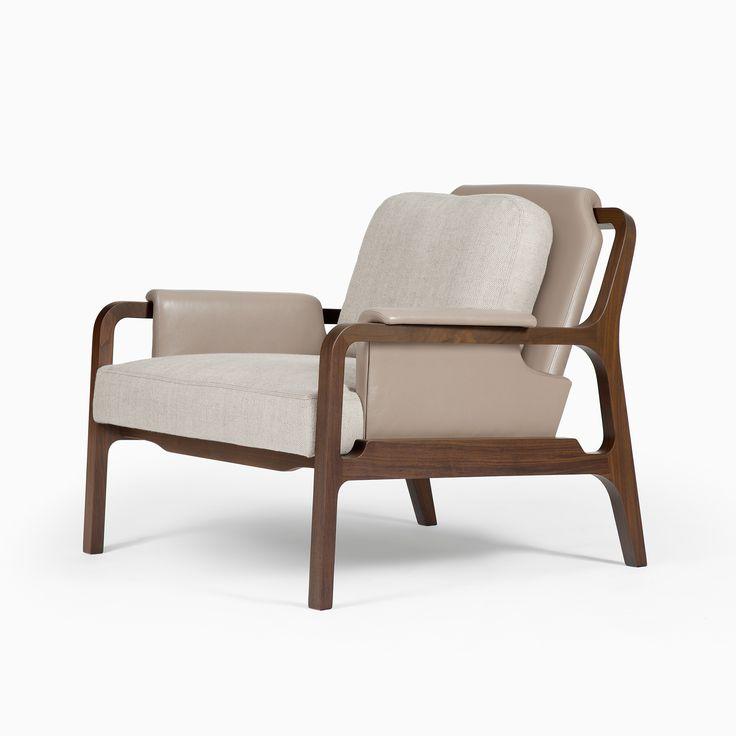 Fergus Lounge Chair - CASTE Design Ty Best.