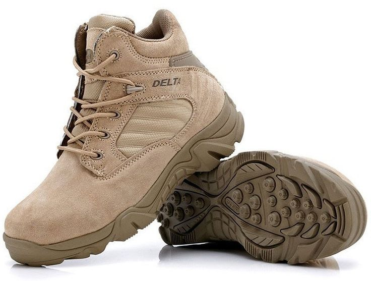 High-quality Autumn Winter Military Tactical Boots Round Toe Men Desert Combat Boots Outdoor Mens Leather Army Ankle Boots O314
