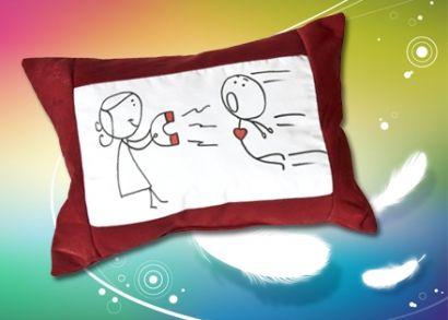 5.500 Ft helyett 3.290 Ft: Különleges ajándék kedvesednek a szerelem napjára! Többféle választható, divatos, romantikus, humoros mintájú díszpárna Valentin napra!