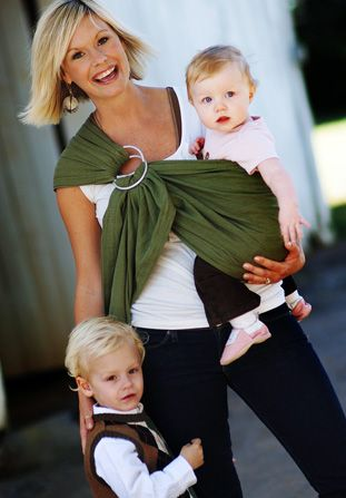 Maya Wrap Ring Sling!  My most favourite accessory for carting around the kiddos. Outside and inside the home!
