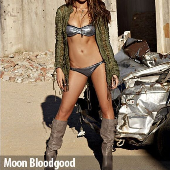 Steve Madden boots seen on Moon Bloodgood in Maxim Steve Madden boots as see on Moon Bloodgood in Maxim. I have them in black and cognac color. Both brand new never been worn. Message me for more pictures or questions Steve Madden Shoes