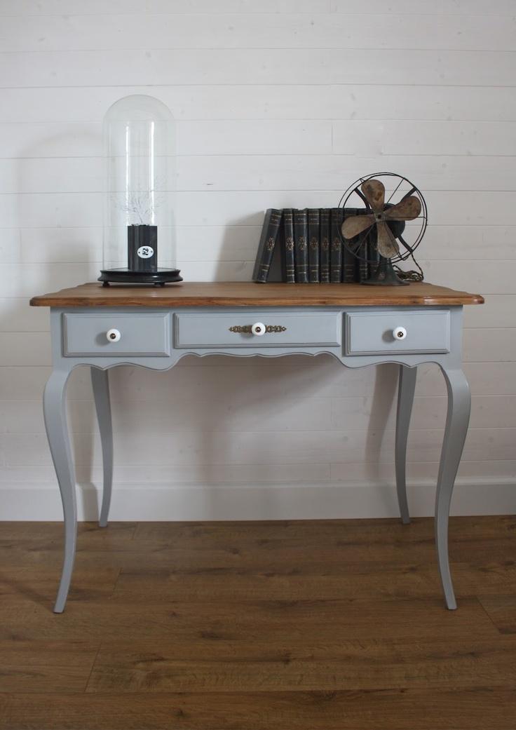 meuble bleu et naturel furniture painting tables pinterest. Black Bedroom Furniture Sets. Home Design Ideas