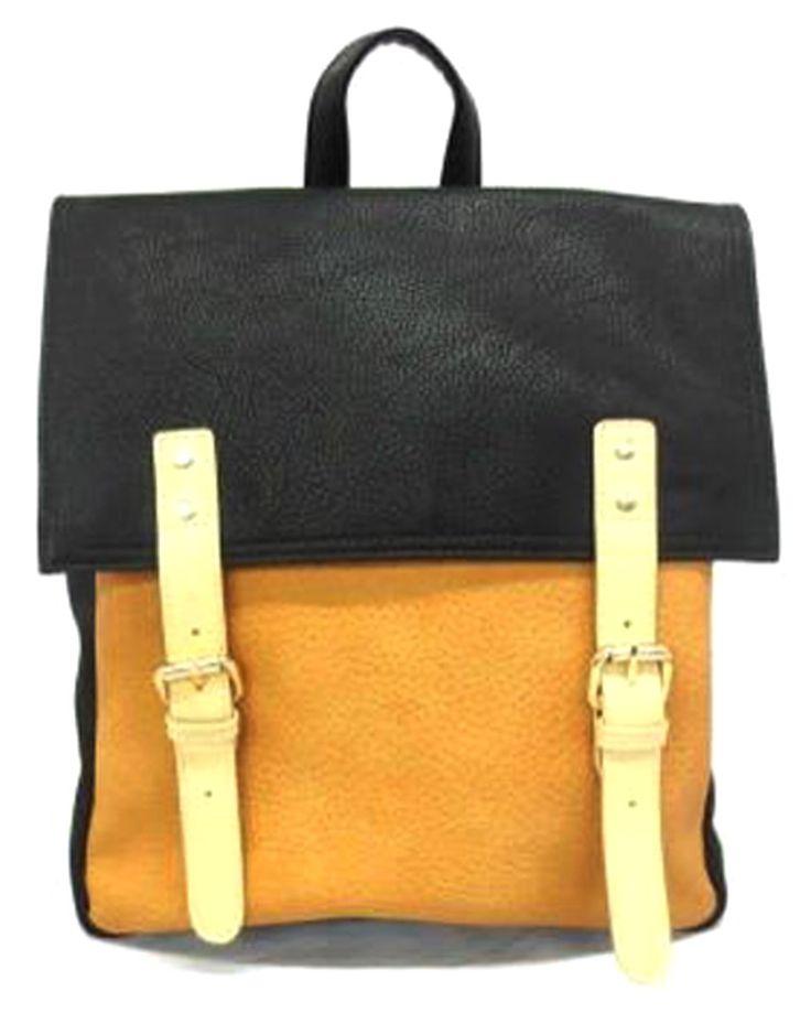 Fc Vegan Bags Contrast Colour Backpack