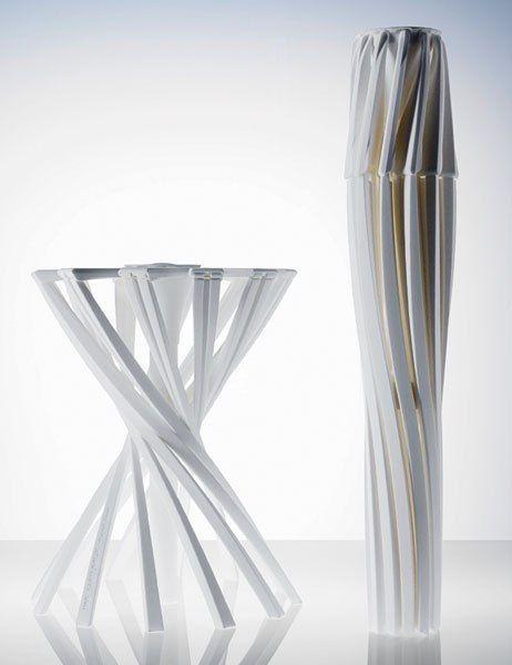 """One_Shot.MGX"" stool in white | Patrick Jouin"