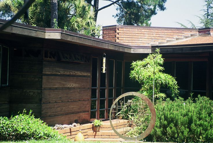 17 best images about flw bazett house on pinterest cas for Frank lloyd wright houses in california