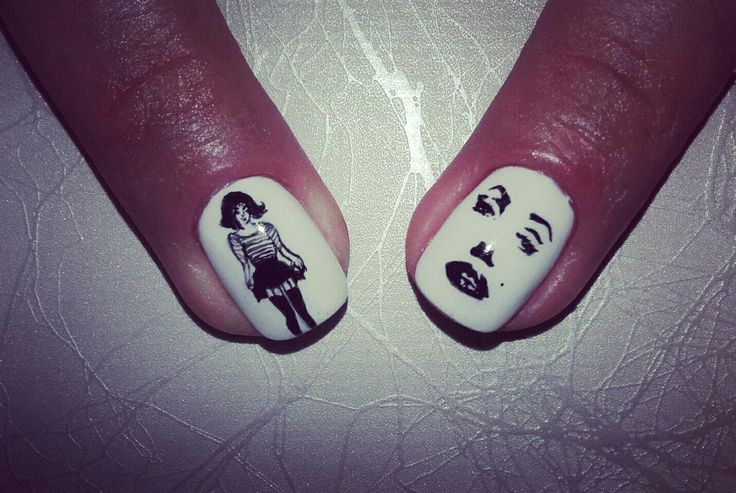 115 best nails art-painting images on Pinterest | Nail art, Nail art ...