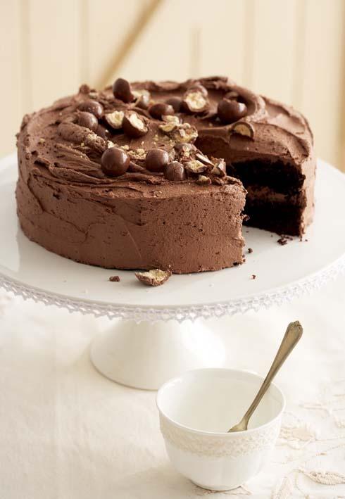 Egg-free bakes: Chocolate cake