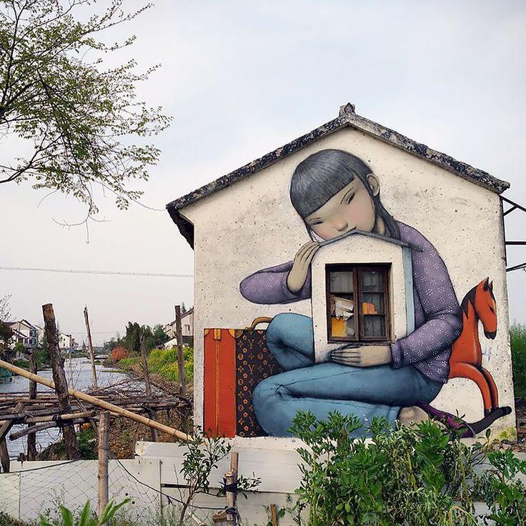 Este artista francés transforma aburridos edificios en obras de arte | Bored Panda