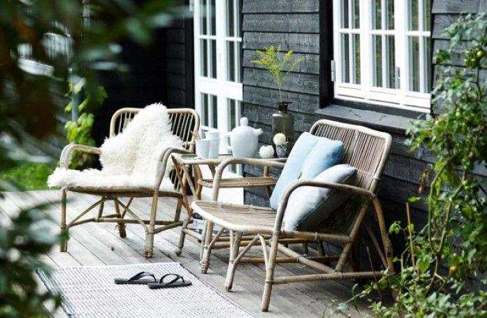 Prachtig terras met een Scandinavische sfeer