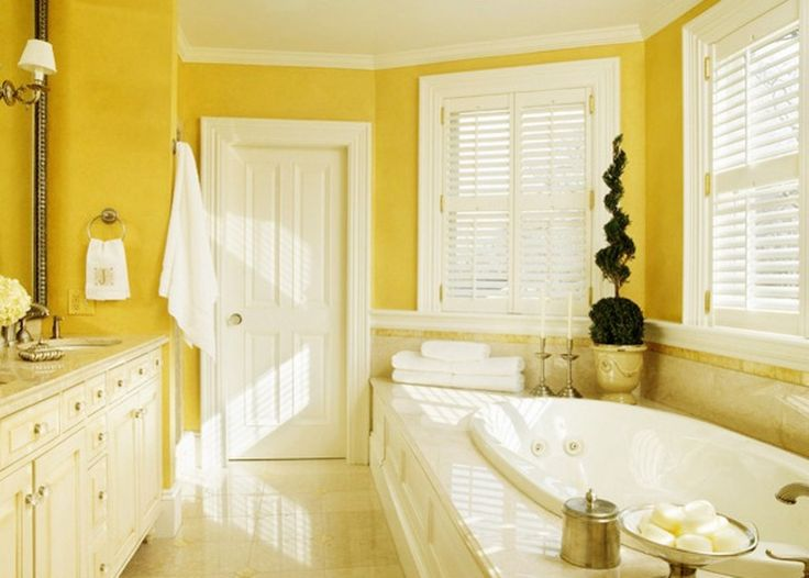 Bathroom Yellow Paint 211 best bathrooms decor extra images on pinterest | bathroom
