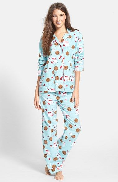 PJ Salvage 'Fall into Flannel' Pajamas | Nordstrom