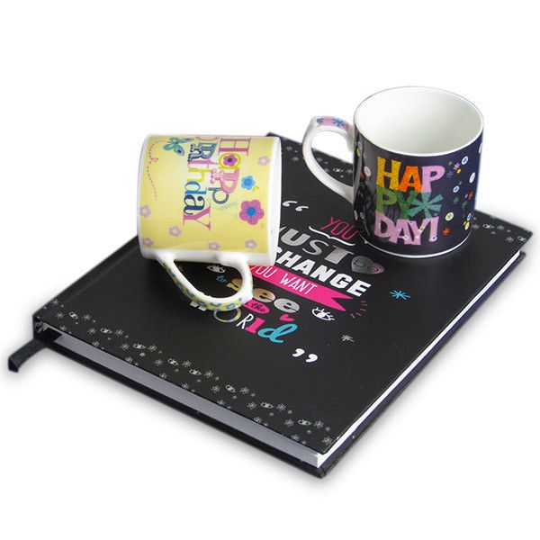 Happy Birthday Hamper For Him Give your dear one a lovely surprise on her or his birthday with this hamper which contains two mini mugs and a notebook. Rs. 524 : Shop Now : https://hallmarkcards.co.in/collections/shop-all/products/birthday-gifts-for-him