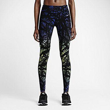 Damskie legginsy do biegania Nike Printed Engineered
