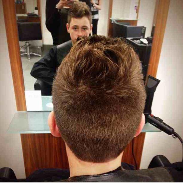 Scissor over comb | Armani hair cuts | Pinterest | Hair ...