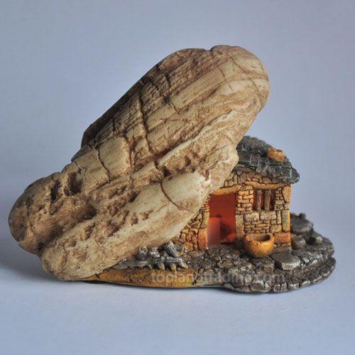 Mini Fairy House with Light!
