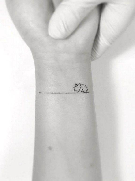 81 Most Meaningful Cutest Small Tattoos Idea You May Love Tattoo Design 35 Dinosaur Tattoos Cute Small Tattoos Tattoos