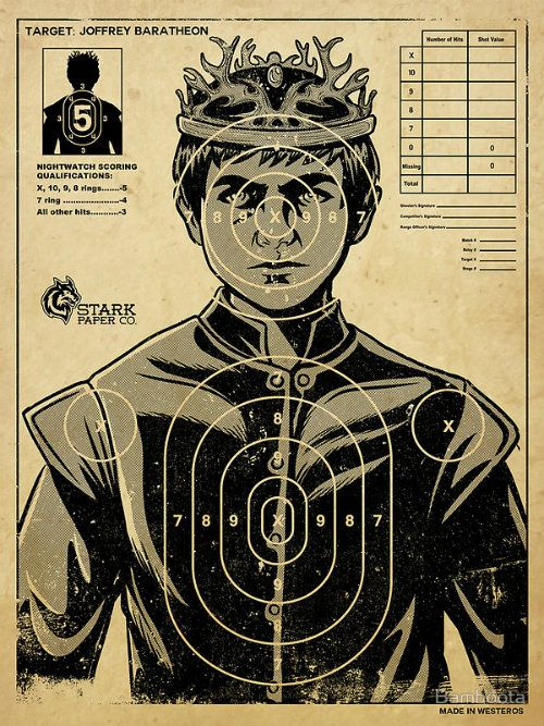 "Joffrey poster | Community Post: 21 Ways To Up Your ""Game Of Thrones"" Finale Party"