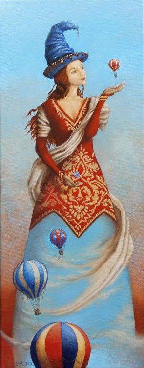 Catherine Chauloux - La Dame des vents