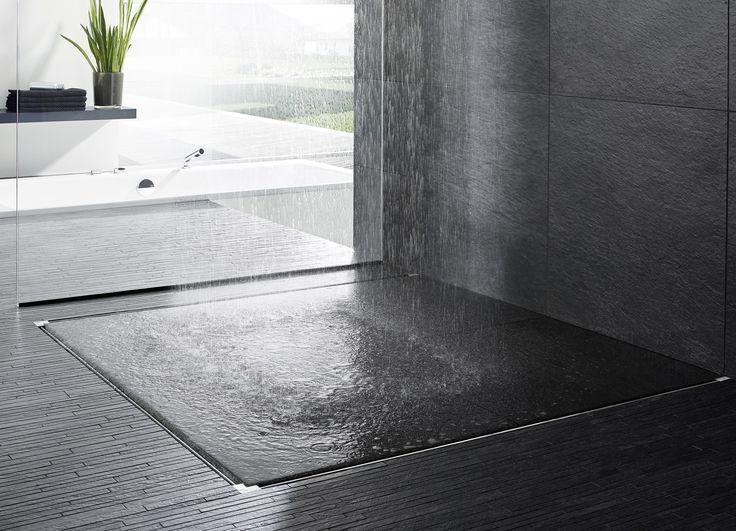 Duschrinnen aus Edelstahl ADVANTIX VARIO by Viega Italia Design ARTEFAKT industriekultur