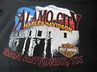 ALAMO CITY HARLEY DAVIDSON TEXAS SHUT UP AND RIDE MENS T-SHIRT 2XL BLACK SS