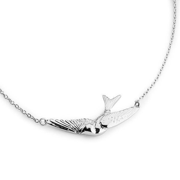 Wanda necklace Sahara silver