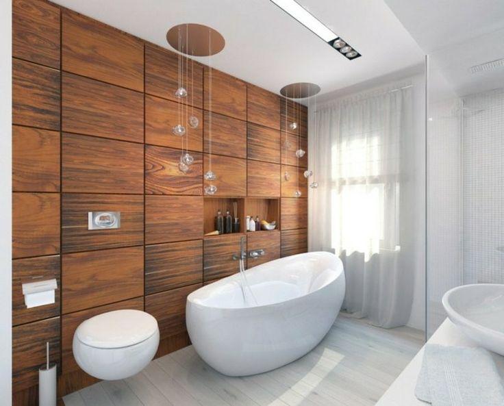 Die besten 25+ Bad Akzentwand Ideen auf Pinterest halbes - luxus badezimmer einrichtung