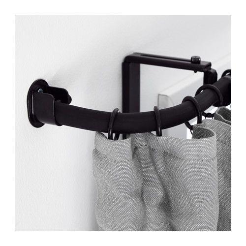 Les 25 meilleures id es concernant rideaux fen tre d 39 angle for Fixation tringle a rideau