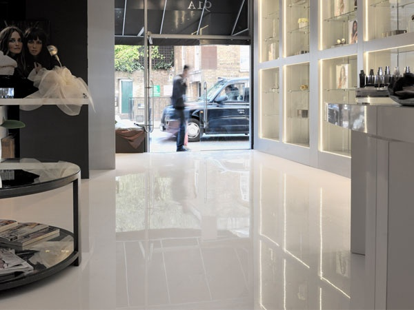 Liquid Elements, Artfully Poured Floors Reflect An Aura Of Class And  Sophistication To High End