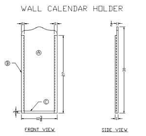 Best Calendar Frame Plans Images On   Perpetual