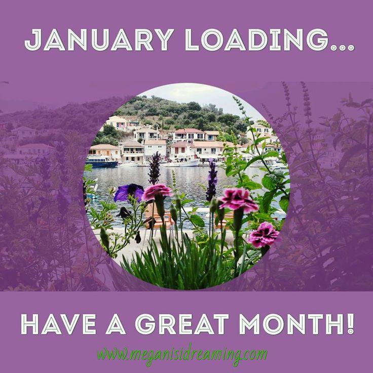 Welcome January 2017!