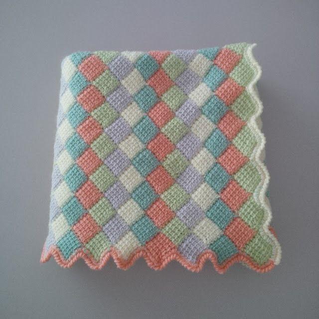 M s de 25 ideas nicas sobre colchas tejidas para bebe en - Manta de bebe a ganchillo ...